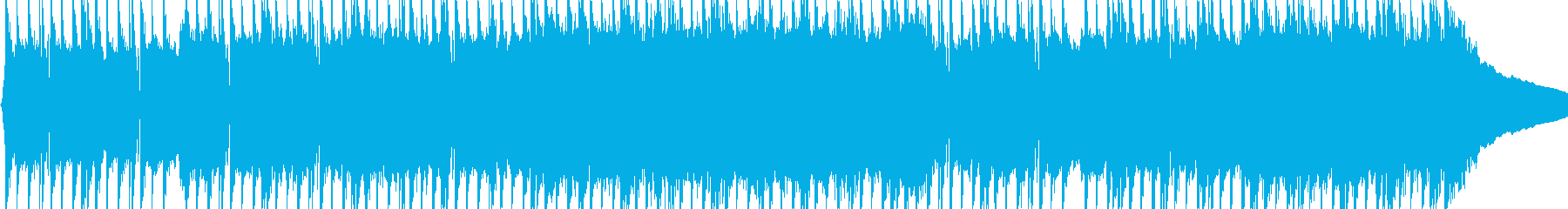 強いハードヘビーメタルの再生済みの波形