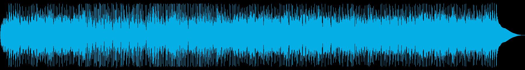 爽やかでオシャレな和風BGMの再生済みの波形