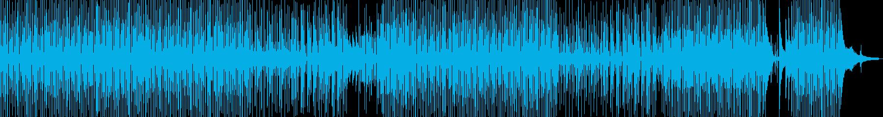 ウクレレのほのぼのするポップス bの再生済みの波形