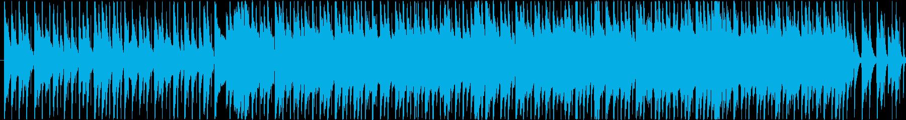 楽しくコミカルなBGM(60ver)の再生済みの波形
