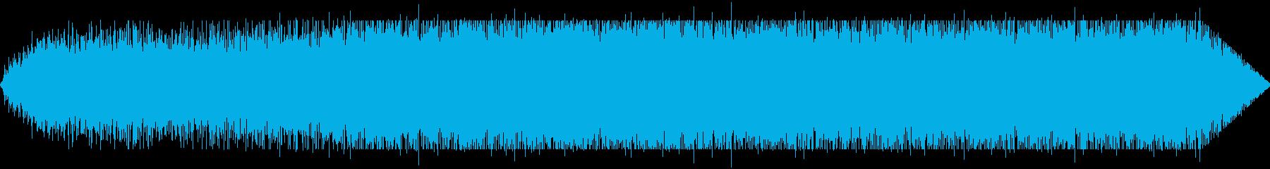 回転する人の再生済みの波形