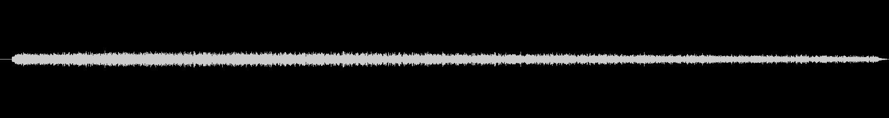 ガーン(衝撃時) 低いシンセPAD音の未再生の波形