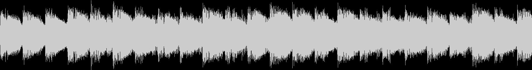 シンセ サイレン アナログ ピコピコ08の未再生の波形