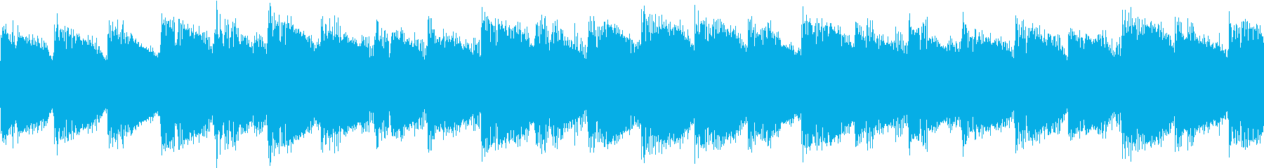 シンセ サイレン アナログ ピコピコ08の再生済みの波形