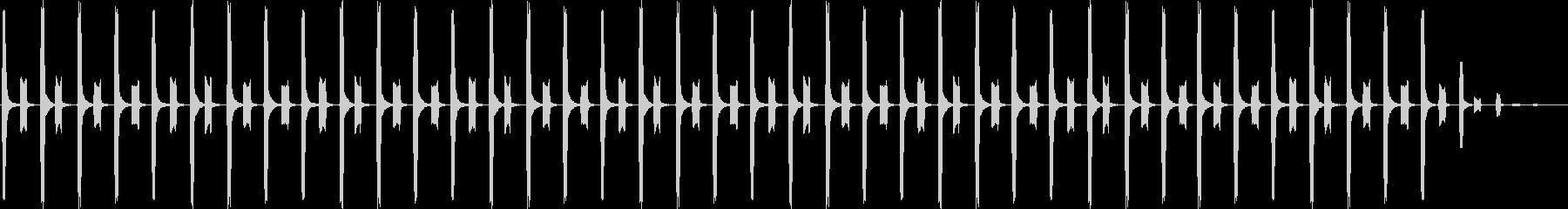 子供が歩く足音 01の未再生の波形