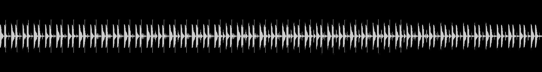 忍びこむドラムループ02の未再生の波形