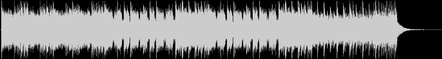 本格的なヘヴィメタル系のジングルの未再生の波形