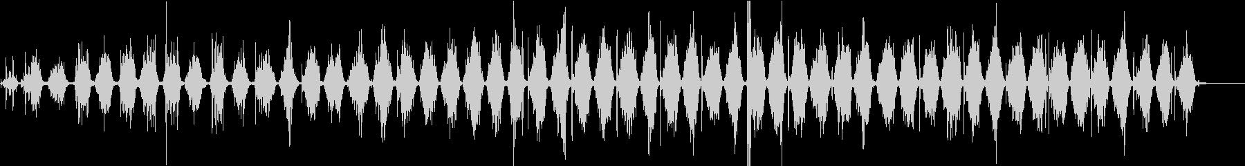 【生録音】ノコギリで物を切る音 1の未再生の波形