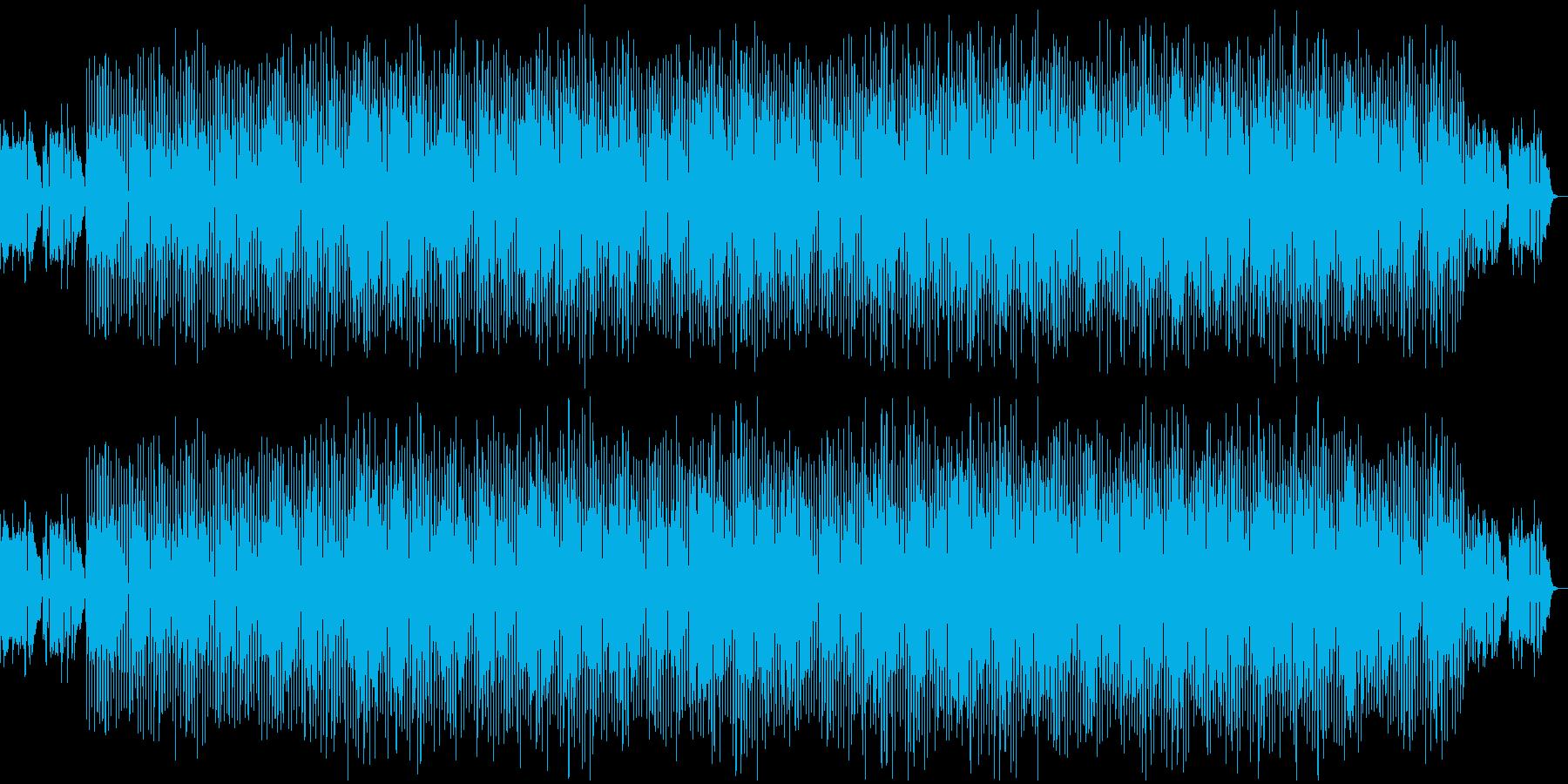 チルくて空っぽい爽快感がある曲の再生済みの波形