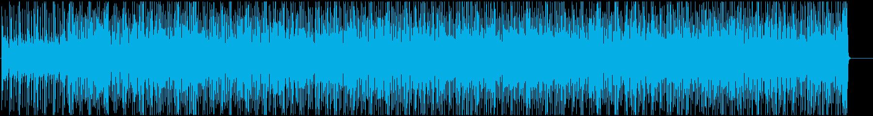 アコギの爽やかで軽快な雰囲気のポップスの再生済みの波形