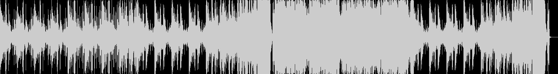 不思議な感じのハイブリッドトラップの未再生の波形