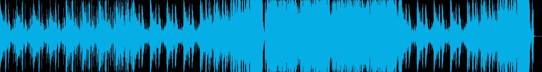 不思議な感じのハイブリッドトラップの再生済みの波形