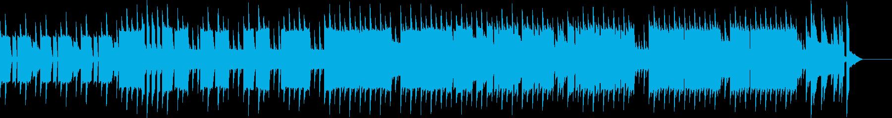 8bit風のポップで軽快なチップチューンの再生済みの波形