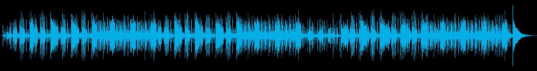 ピアノ使用 やや緊張感のあるの再生済みの波形