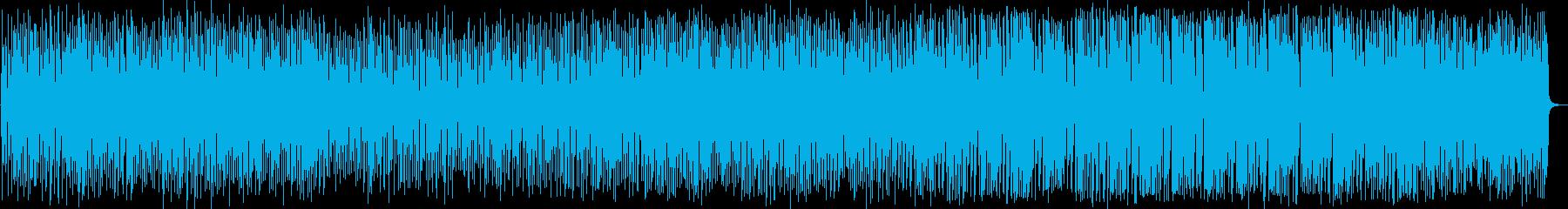 ポジティブ、パーティー、メロディックの再生済みの波形