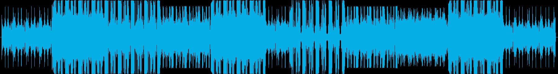 幻想的で切ない Trap HIPHOPの再生済みの波形