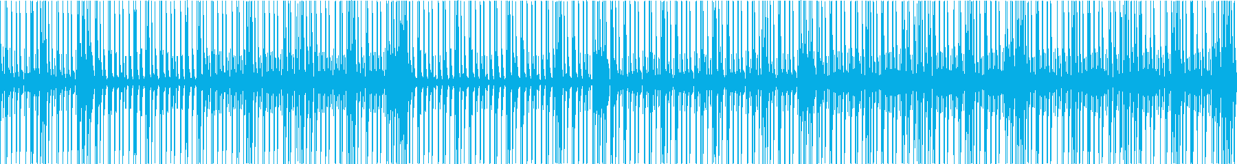 BPM119の生音ドラムソロの再生済みの波形