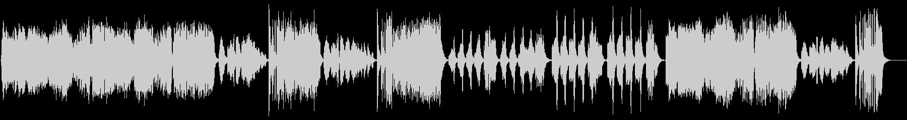 【バイオリン生演奏】ハンガリー舞曲第5番の未再生の波形