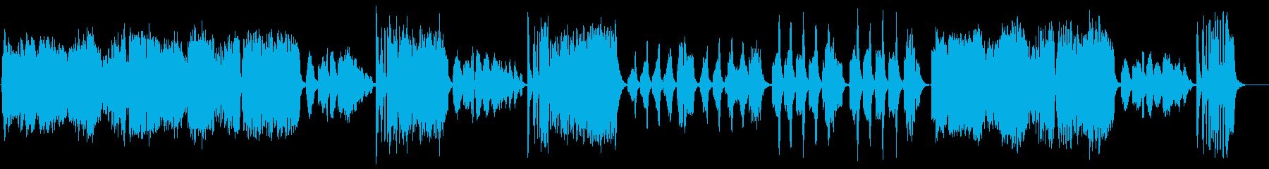 【バイオリン生演奏】ハンガリー舞曲第5番の再生済みの波形
