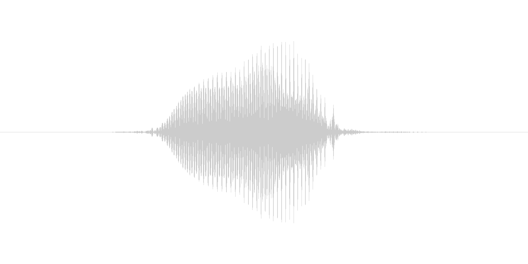 2(2、に)の未再生の波形
