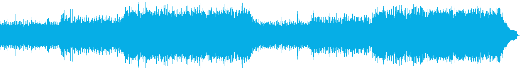 企業VP映像、106オーケストラ、爽快aの再生済みの波形