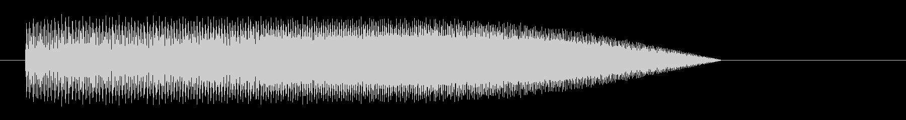 レーザー音-42-3の未再生の波形