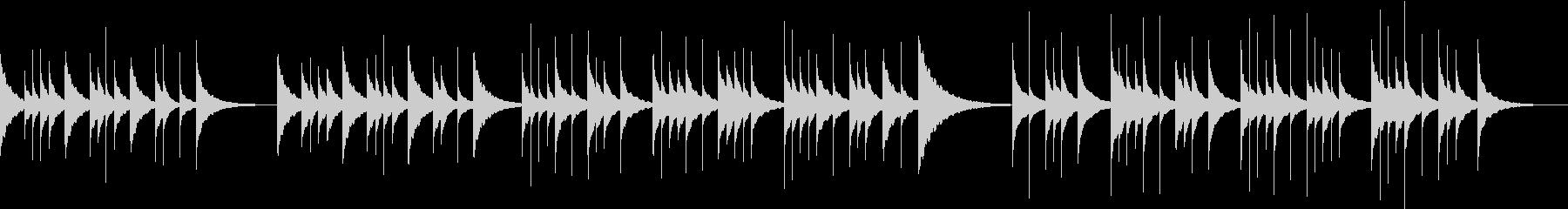 切ない優しいビブラフォンのソロ【鉄琴】の未再生の波形