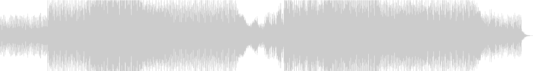 明るくファンキーなエレクトロダンスポップの未再生の波形