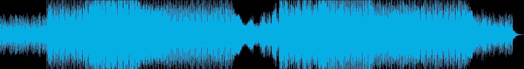 明るくファンキーなエレクトロダンスポップの再生済みの波形
