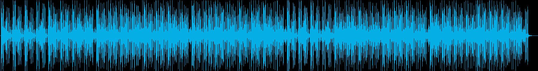 プレゼン 企業VP クールな印象の再生済みの波形