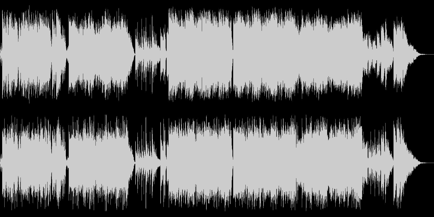感動的な琴とバイオリンの和風バラードcの未再生の波形