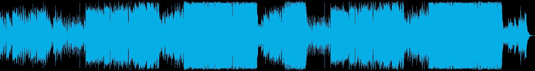 怪しいクリスマス・ハロウィンのBGMの再生済みの波形