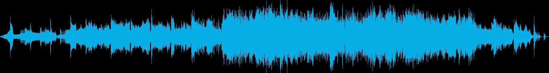 雅楽・中盤から和洋中の折衷の再生済みの波形