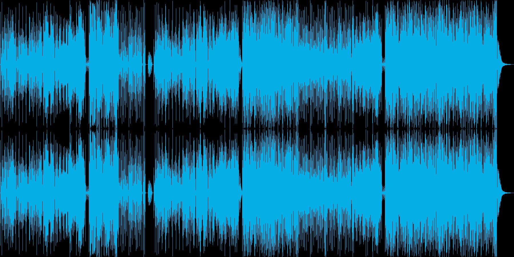 幸せのポップスの再生済みの波形