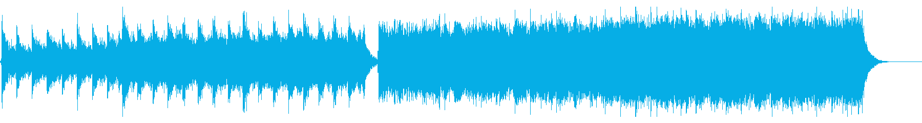 エネルギッシュなシンフォニックストリングの再生済みの波形
