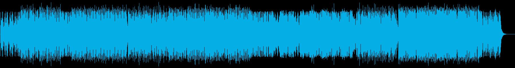 迫力とドキドキ感のある弦楽器サウンドの再生済みの波形