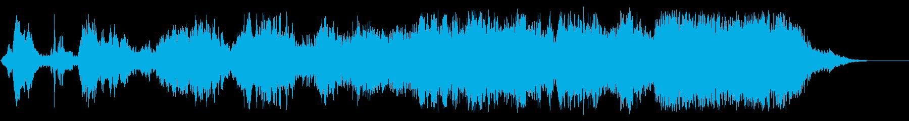 環境音楽(サイエンス&ケミカル)の再生済みの波形
