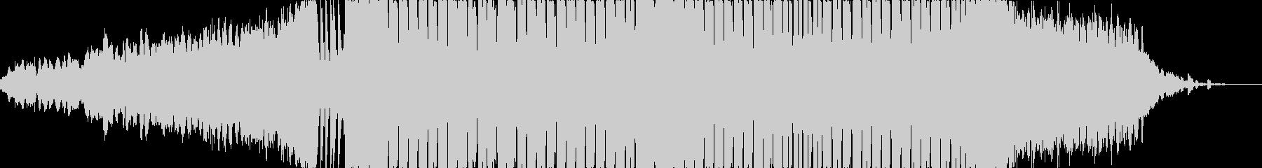 怪しげな雰囲気のEDMの未再生の波形