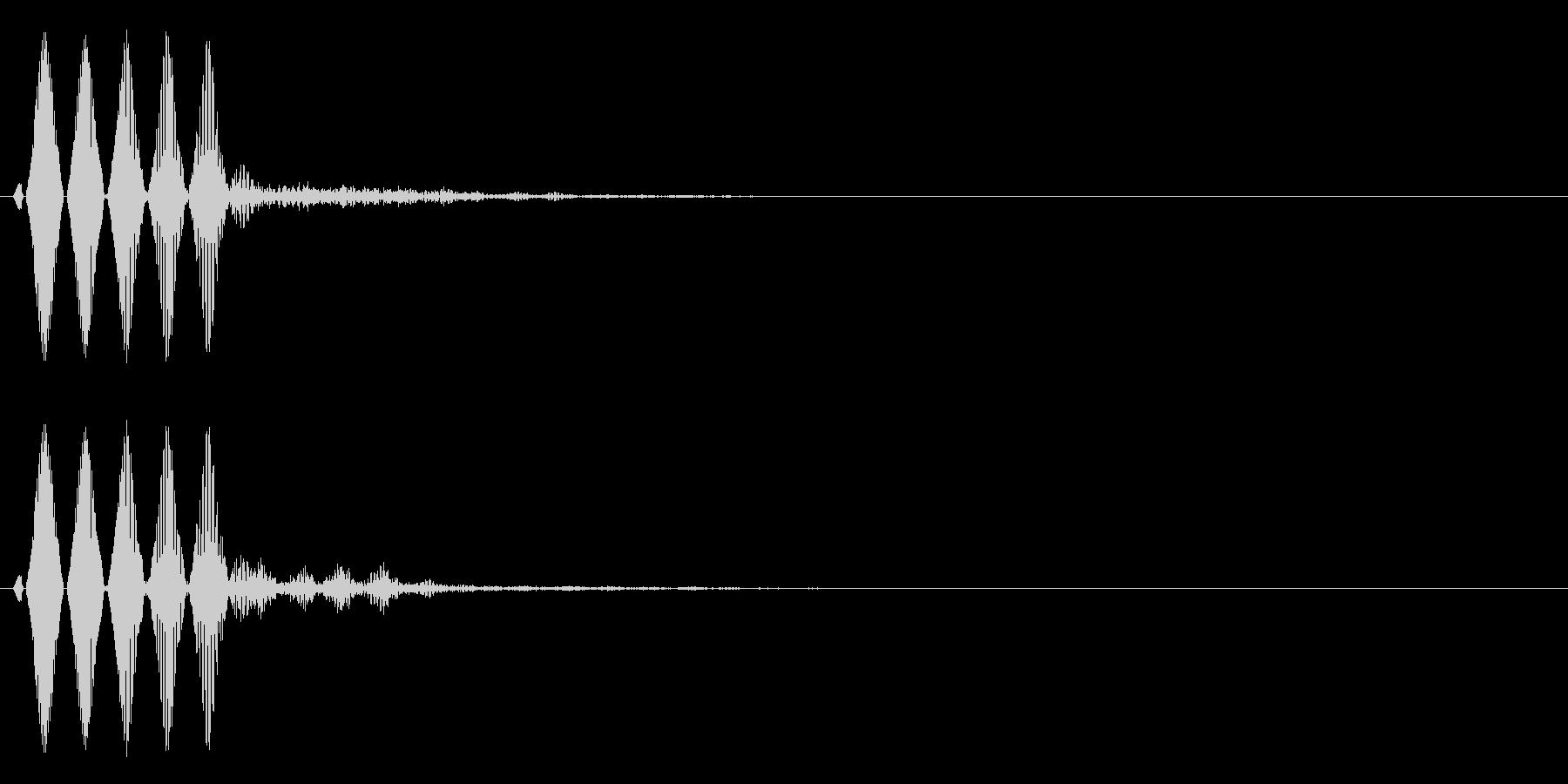 システム停止・閉じる・キャンセル_03の未再生の波形