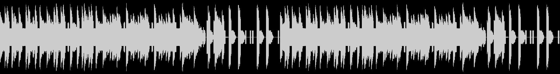 FC風ループ 結果の発表の未再生の波形