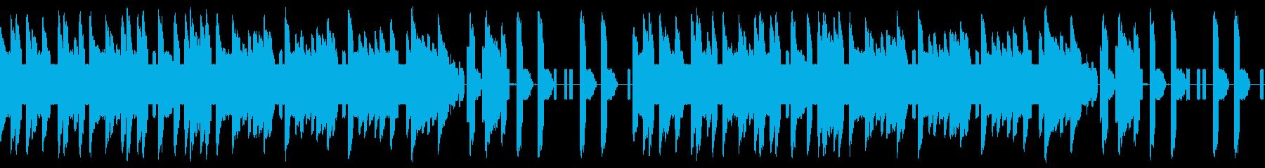 FC風ループ 結果の発表の再生済みの波形