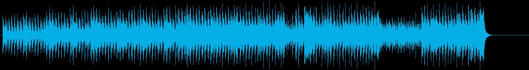 タイトでクールなハウス風POPの再生済みの波形