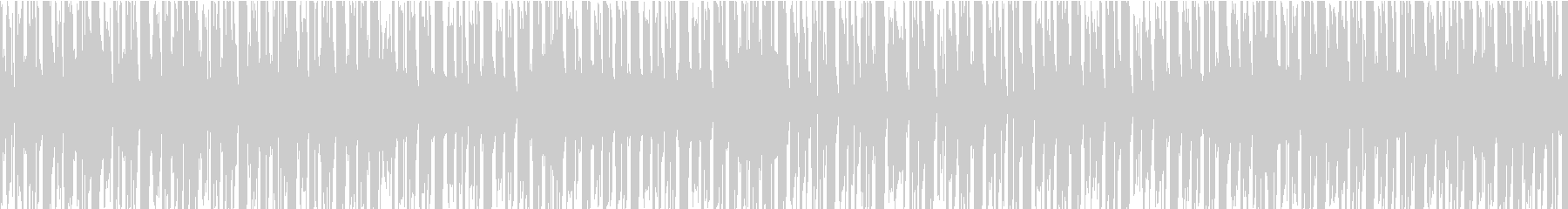 ゆめかわボサノバ×チップチューンループの未再生の波形