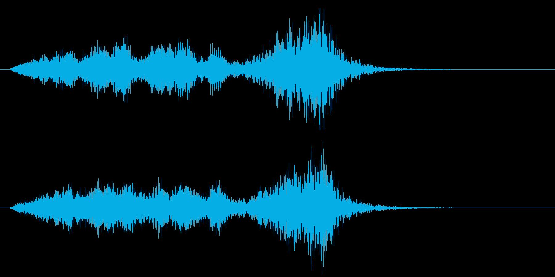 悲しいゲームオーバー 02の再生済みの波形