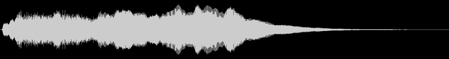 トッカータ風ジングル 03の未再生の波形