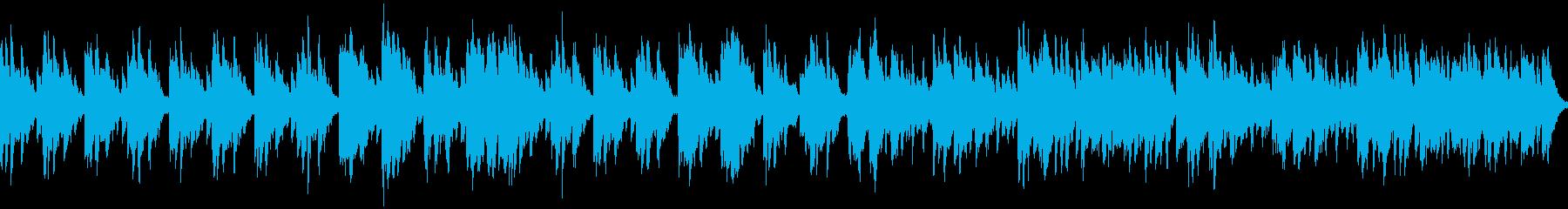 メロディ抜き ループ処理版の再生済みの波形