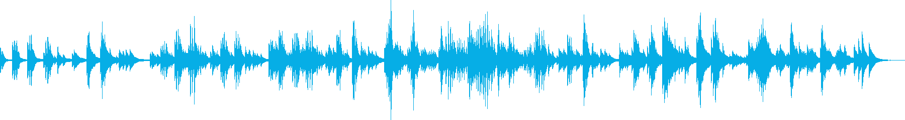 At the end of sadness and despair (piano)'s reproduced waveform