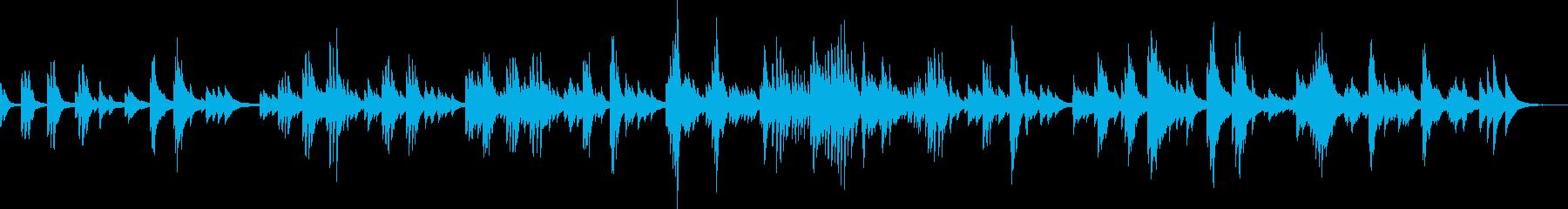 悲しみと絶望の果てに(ピアノ)の再生済みの波形