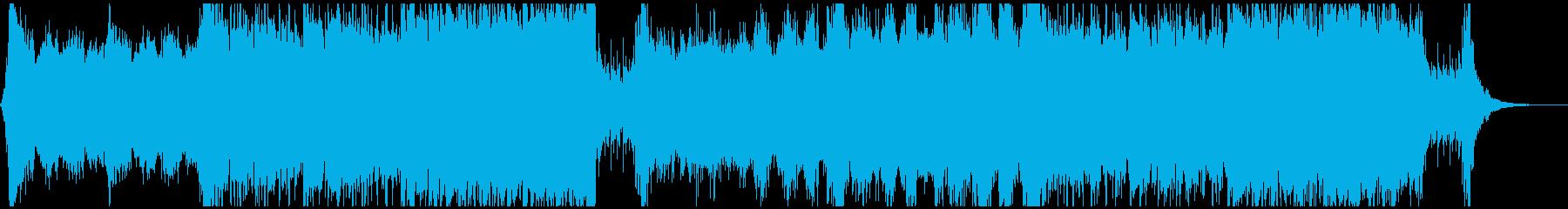 モチベーションを上げるオーケストラの再生済みの波形