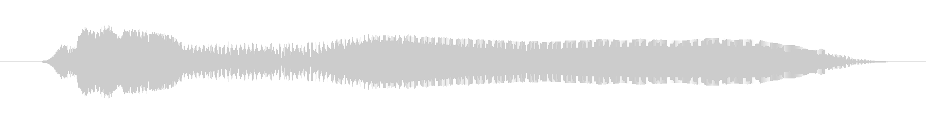 鳴き声 女性ルナティックスクリーム...の未再生の波形